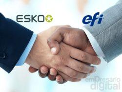 EFI fecha parceria com a Esko e foca em impressão de embalagens.