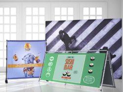 Pixartprinting inova com produtos para comunicação visual e sinalização.