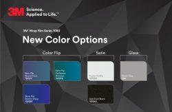 3M anuncia novas cores de vinis para envelopamento.