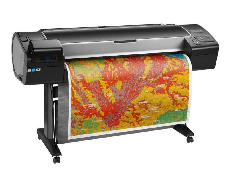 Hp apresenta novos recursos em impressoras DesignJet série Z.