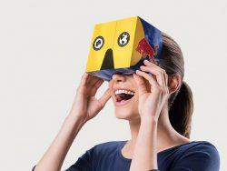 Red Bull lança nova embalagem que se transforma em óculos de RV.