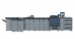Konica Minolta lança nova família de equipamentos durante a ExpoPrint Digital 2017.