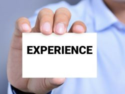 Por que experiência é o que realmente importa?