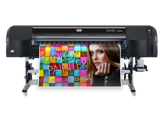 OKI Europe apresenta a impressora ColorPainter E-64s