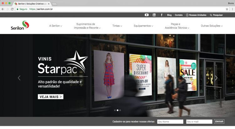 Serilon lança novo Site e Blog, e inova no mercado