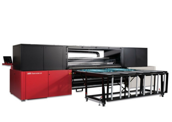 Agfa Graphics lança versão LED da impressora Jeti Tauro na FESPA 2017