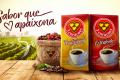 A marca de Café 3 corações divulga campanha em Mídia Exterior