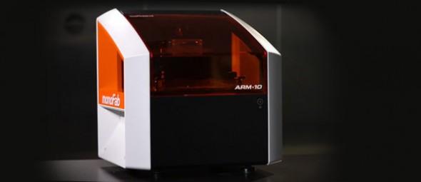 Impressora de mesa 3D monoFab ARM-10 da Roland DG