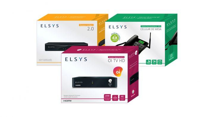 Elsys investe em design de embalagens