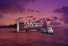 Trident leva para as embalagens paisagens do país clicadas por consumidores