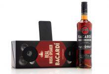 Rum da Bacardi ganha speakers como embalagem