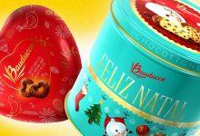 Panettones da Bauducco têm embalagens comemorativas