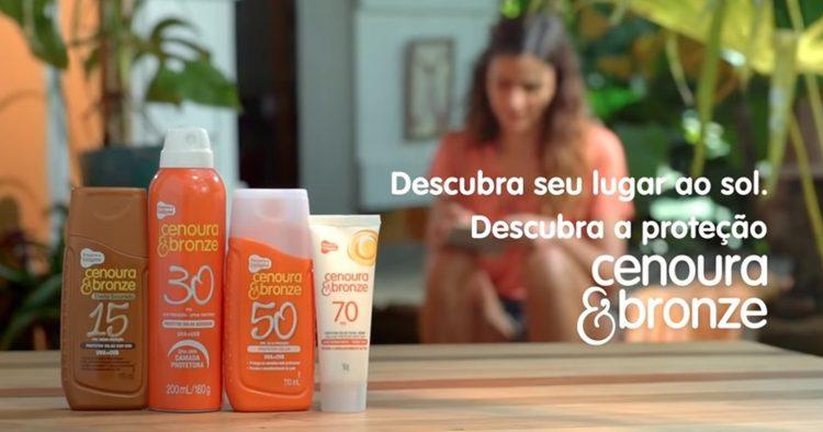 Cenoura & Bronze lança campanha e apresenta novo produto