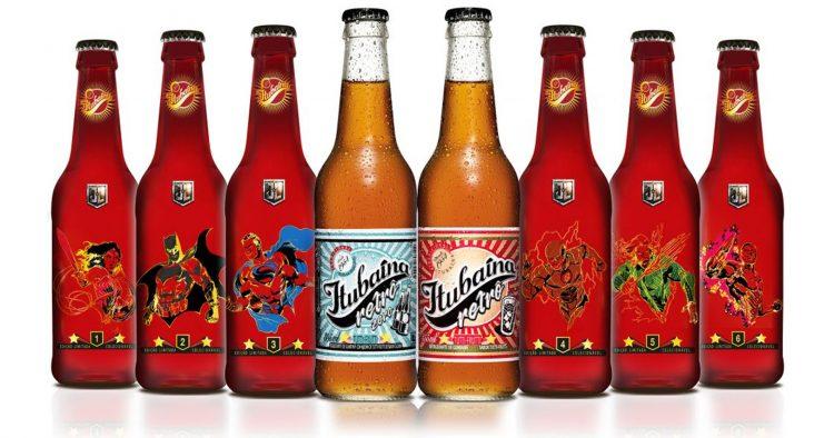 Itubaína ganha garrafas com personagens da Liga da Justiça