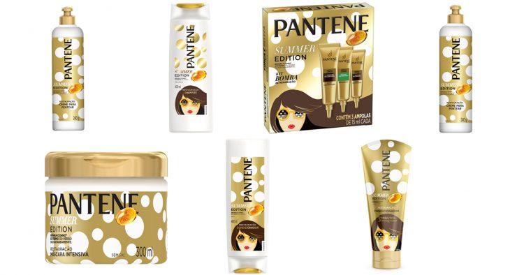 Pantene apresenta edição de verão com embalagens especiais