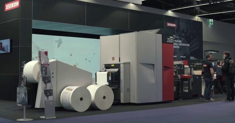 Xeikon traz futuro da produção digital de papel de parede