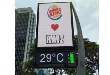 Burger King usa OOH e meme para provocar concorrente, McDonald´s