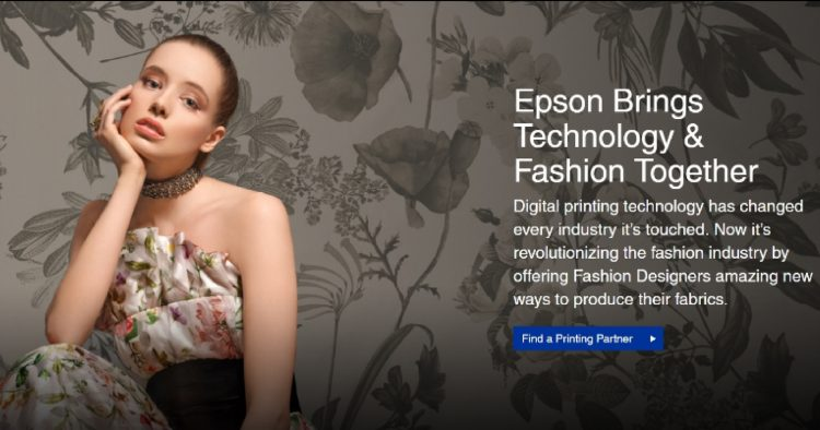 Epson lança site dedicado à estamparia digital têxtil