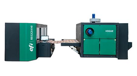 EFI apresenta a produtividade da  sua nova impressora durante Febratex