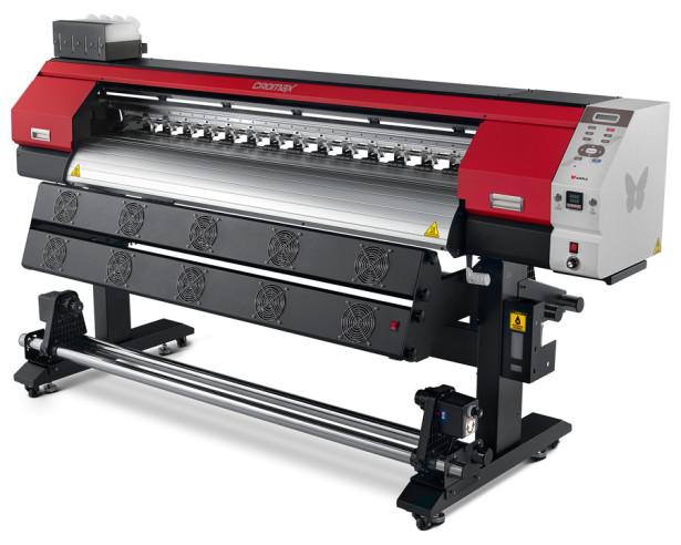 CROMAX : A impressoraeco-solventede grandes formatos