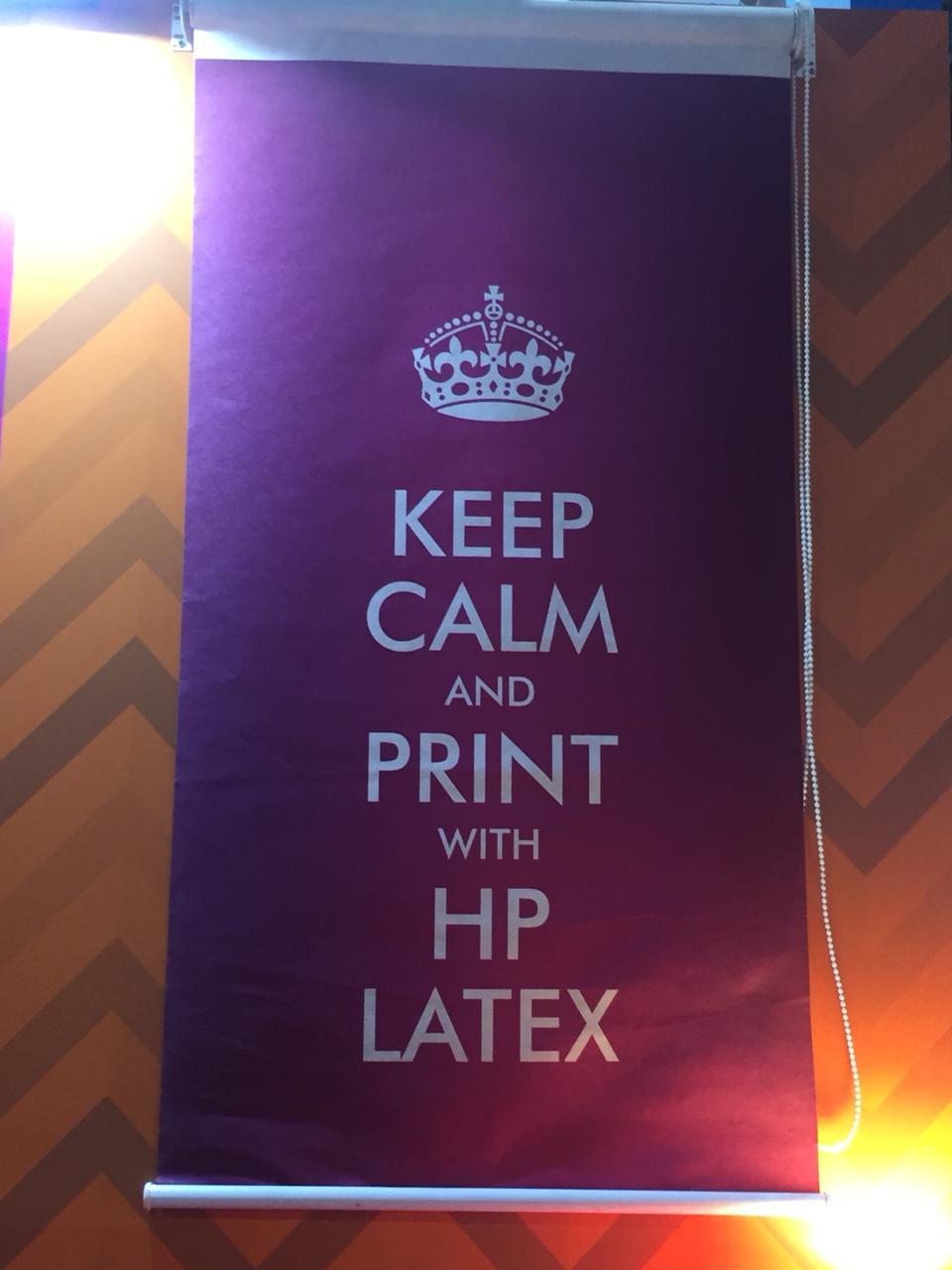 Os diversos ambientes possíveis com a tecnologia HP Látex